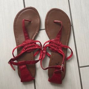 Shoes - Very cute sandals ♥️ Size 7. Worn once.
